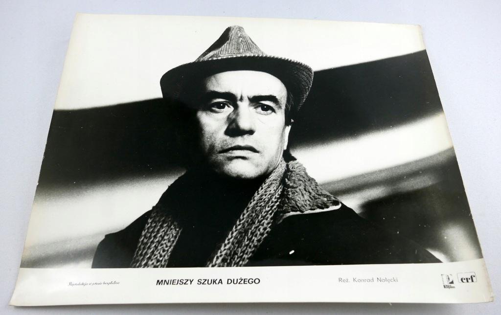 FOTOS MNIEJSZY SZUKA DUŻEGO Wiesław Michnikowski