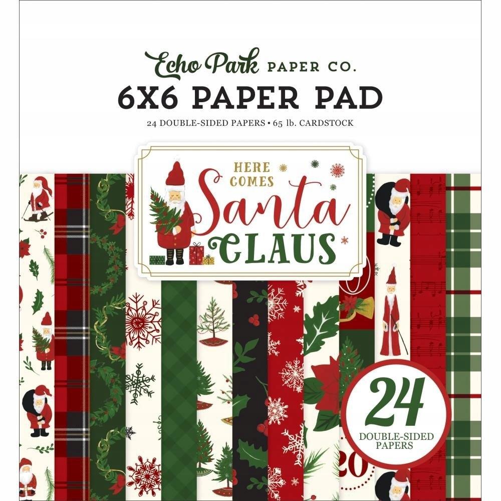 Zestaw 15x15 - Echo Park - Here Comes Santa Claus