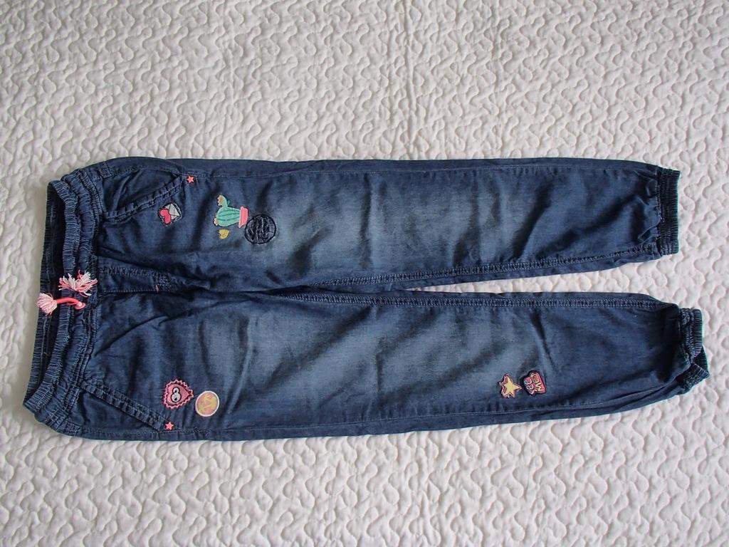 Cool Club spodnie dżins jak nowe bluzki roz 140