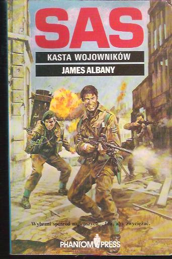 James Albany - Kasta wojowników