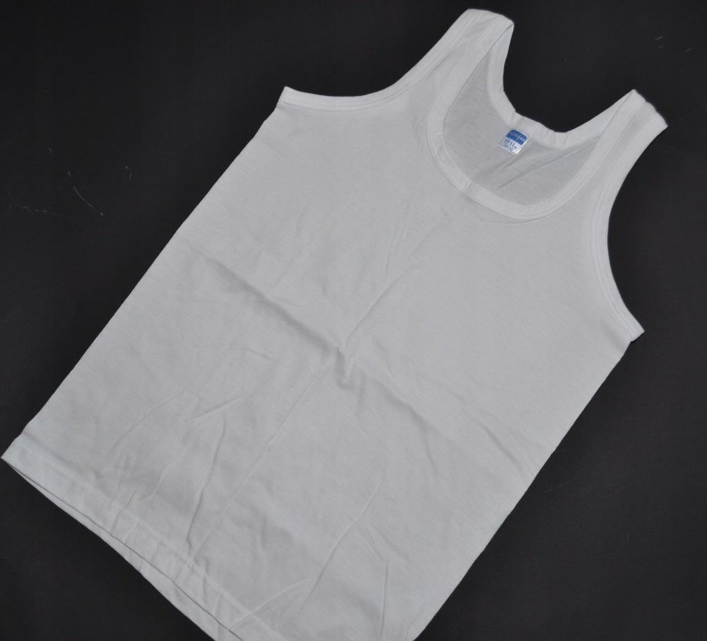 PODKOSZULEK podkoszulka koszulka biała 140-146 CM