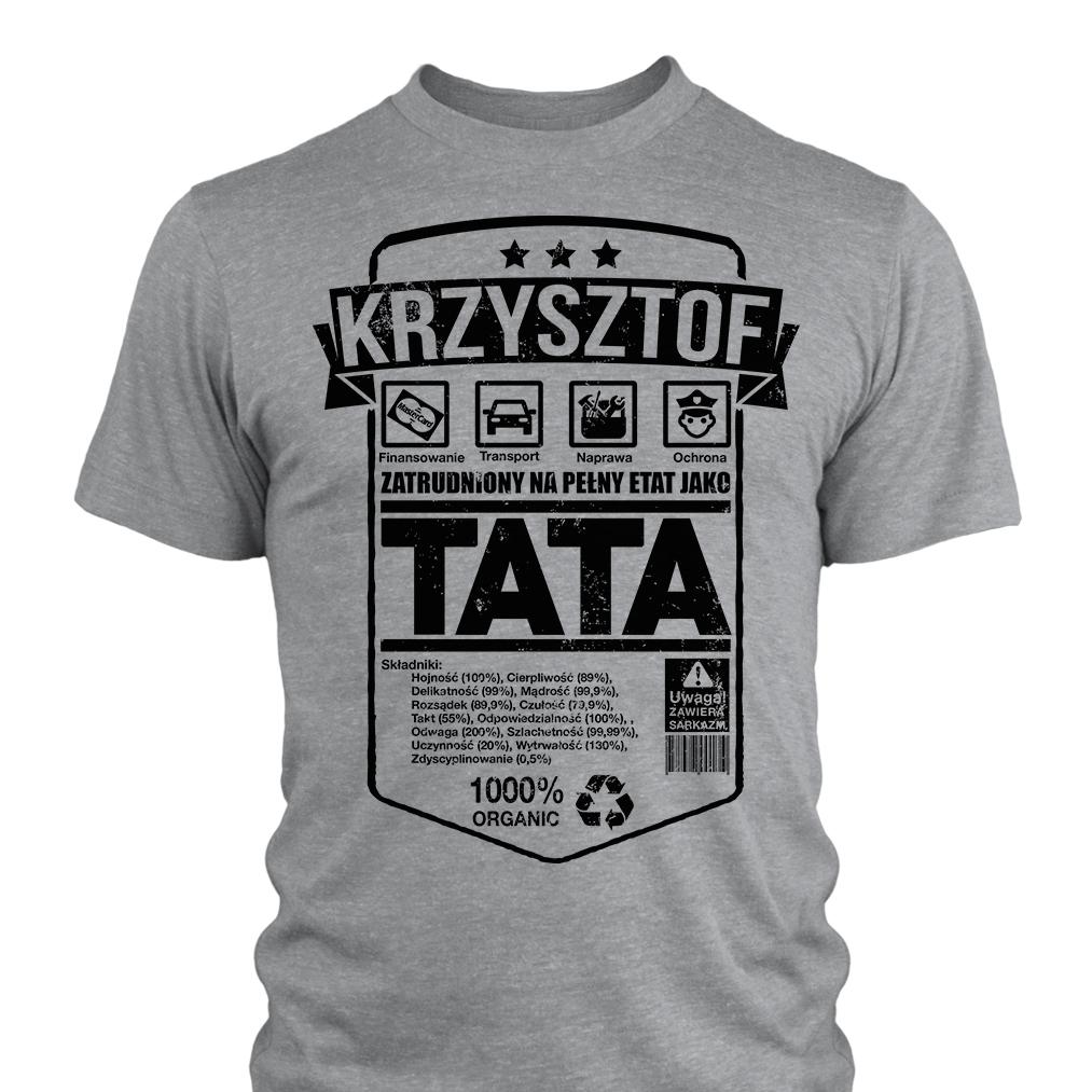 Koszulka Na Dzien Taty Od Corki Od Syna L 7341207565 Oficjalne Archiwum Allegro