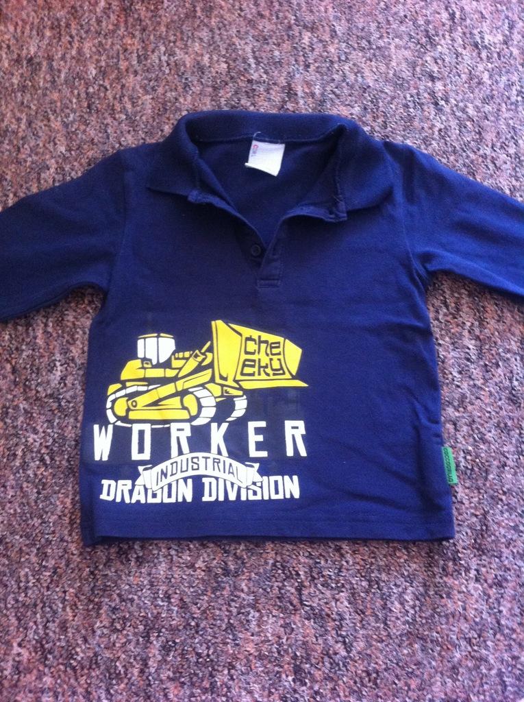 bluzeczka chłopięca rozmiar 92 coccodrillo