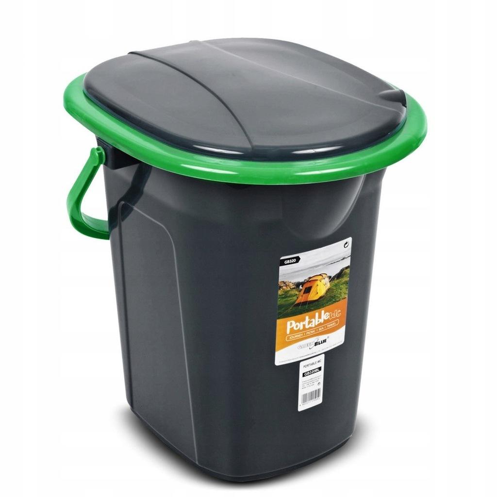 Toaleta turystyczna GreenBlue GB320BG czarno-zielo