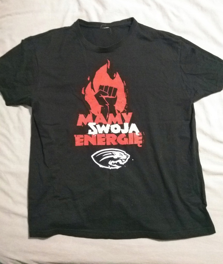 Koszulka Czarni Mamy Swoją Energię rozm. L
