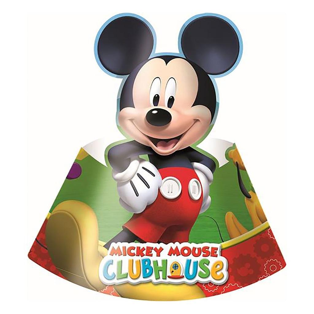 Czapeczki Myszka Miki Playfull Mickey 6 szt