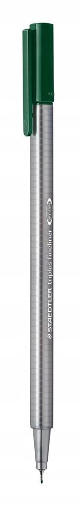 Cienkopis Triplus Fineliner 0,3 mm - ziemski zielo