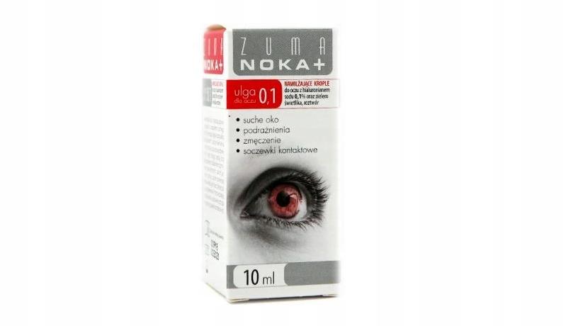 ZUMA NOKA 0,1% krople do oczu nawilzające
