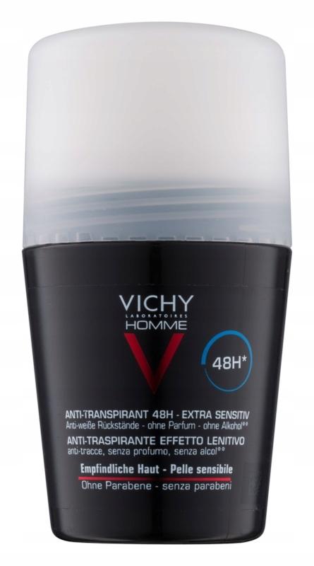 Vichy Homme Deodorant antyperspirant roll-on 48h