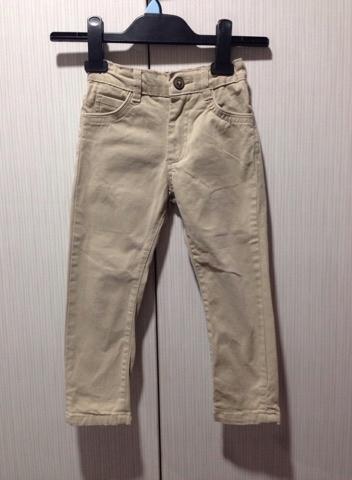 Zara Boys 104 jeansy beżowe Zara