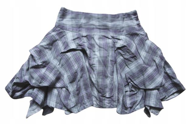 Cherokee 9-10lat cudna spódniczka, krata 140