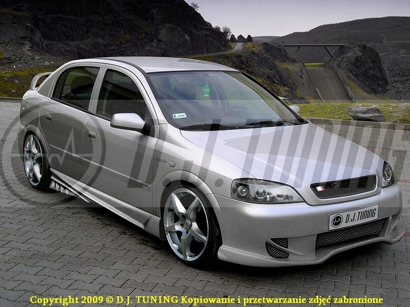 Opel Astra G Zderzak Przedni Radical Dj Tuning 7765464033 Oficjalne Archiwum Allegro