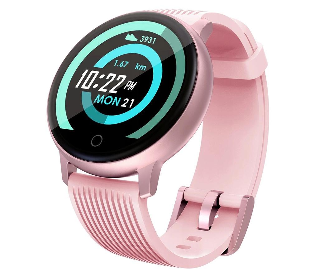 Zegarek Smartwatch Lenovo Blaze Różowy Puls IPS BT