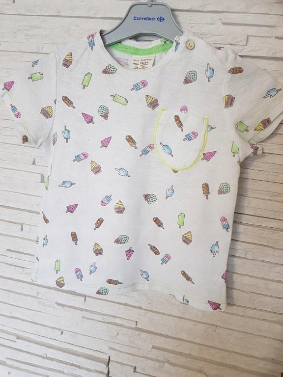 Bluzka t-shirt zara 92
