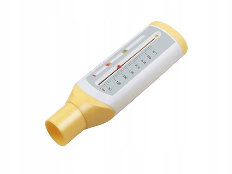 Mały pikflometr dzieci PEF lekki 3 sfery astma