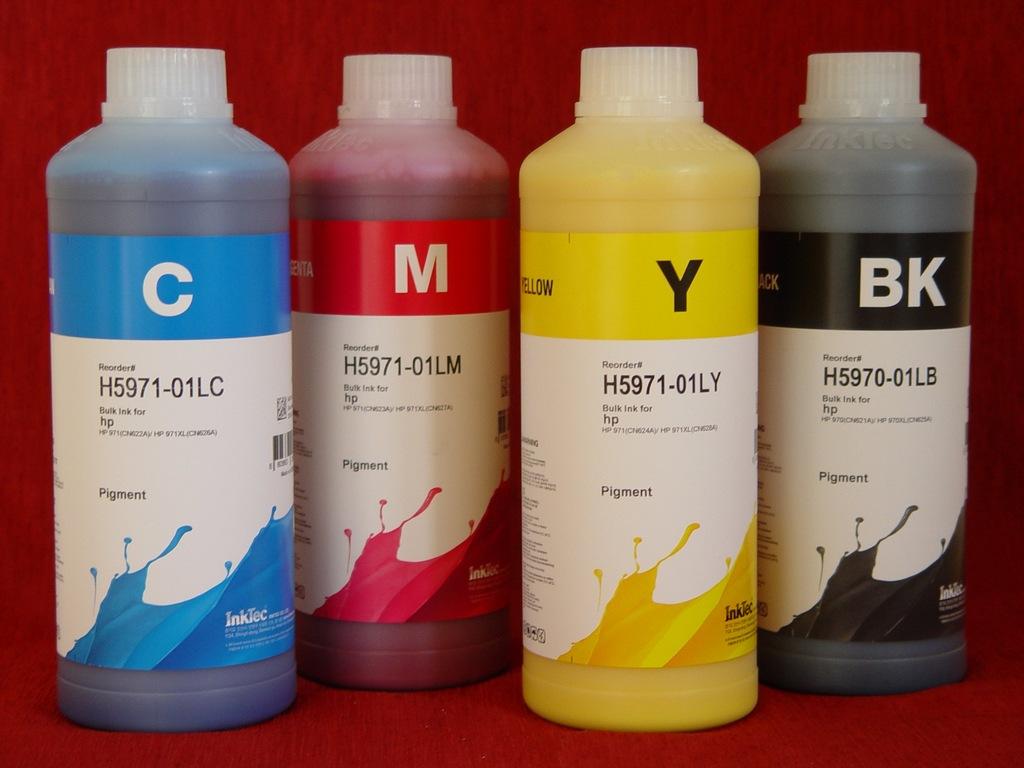 Tusz pigment InkTec /HP Officejet Pro X550dw 4x1L