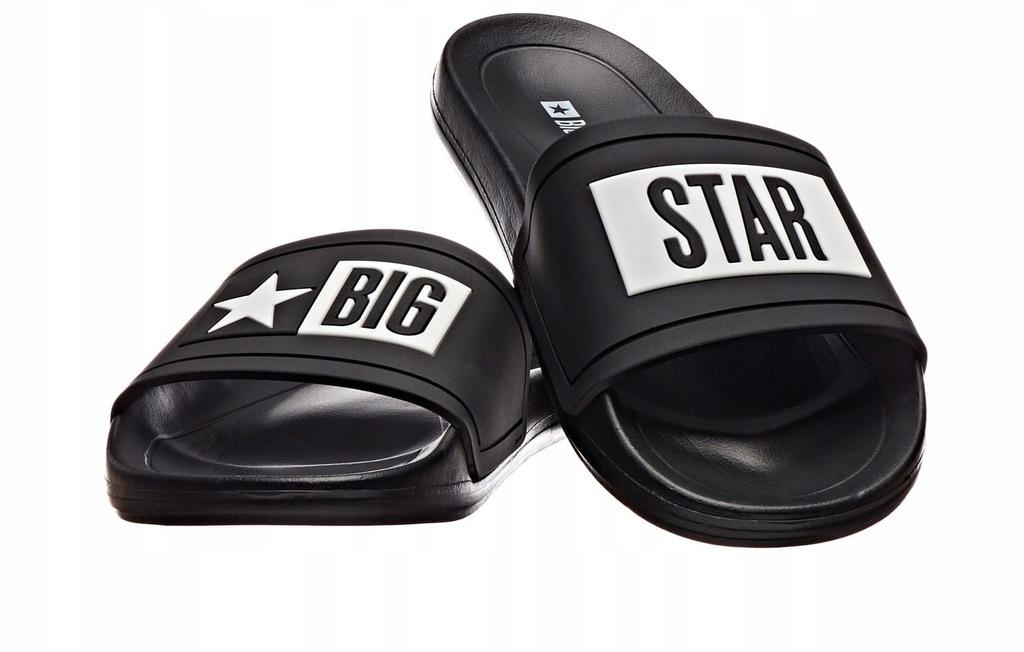 Męskie klapki BIG STAR DD174699 06 CZARNE 46