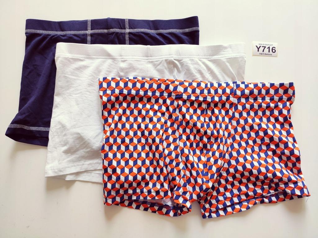 BOKSERKI majtki H&M 40 L 3 pak Y716