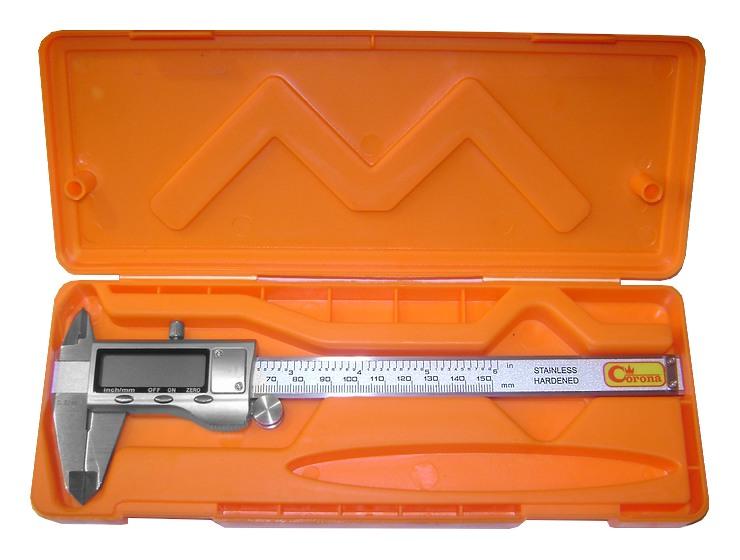 SUWMIARKA ELEKTRONICZNA 0-150mm 0,02mm ETUI [F688
