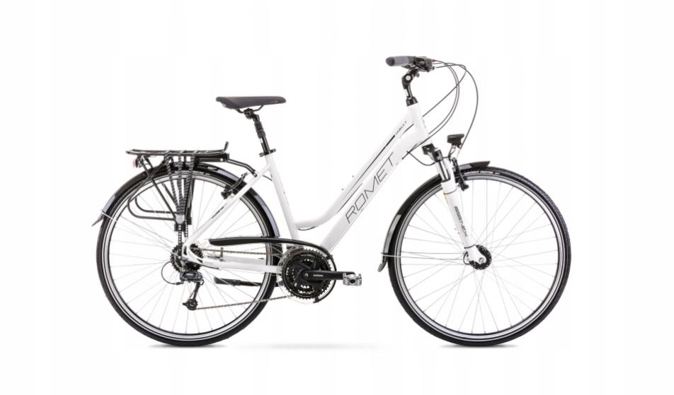 2028378 - 19 L Rower ROMET GAZELA 7 biały