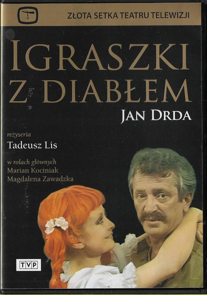 Igraszki z diabłem / Kociniak Zawadzka DVD NOWY