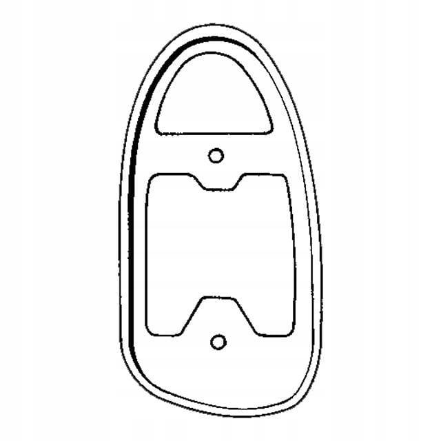 Uszczelka lampy tylnej lewa VW GARBUS 67-72, 1302