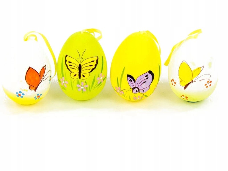 Jajka Wielkanocne Zawieszki 8cm 6szt 7878484225 Oficjalne Archiwum Allegro