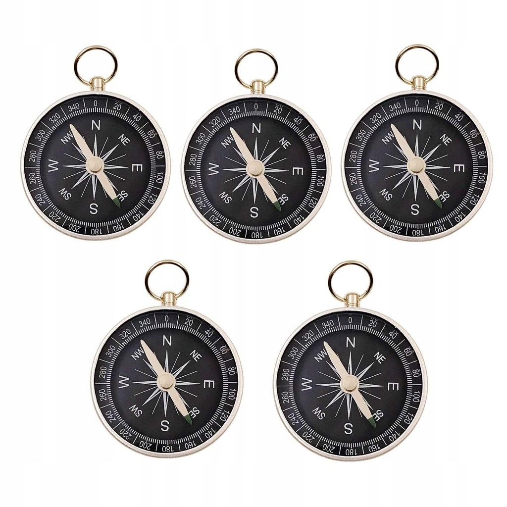 JZK 4 sztuki 44mm mały kompas ze stopu