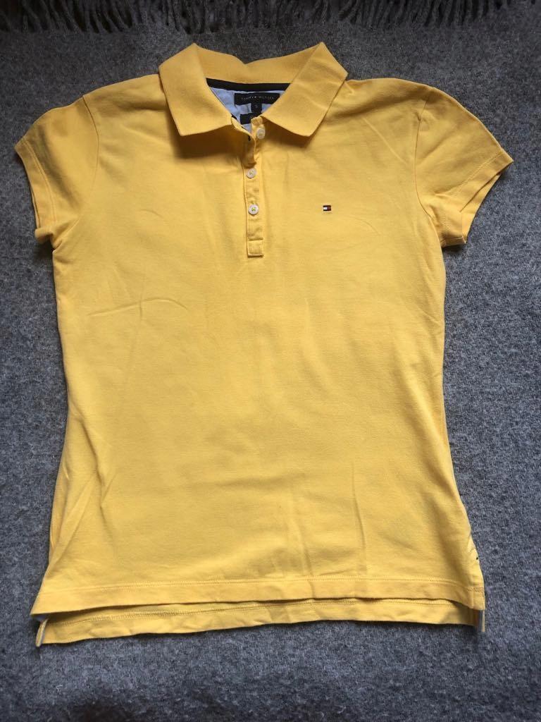 Koszulka polo-HILFIGER- stan idealny- slim fit-S