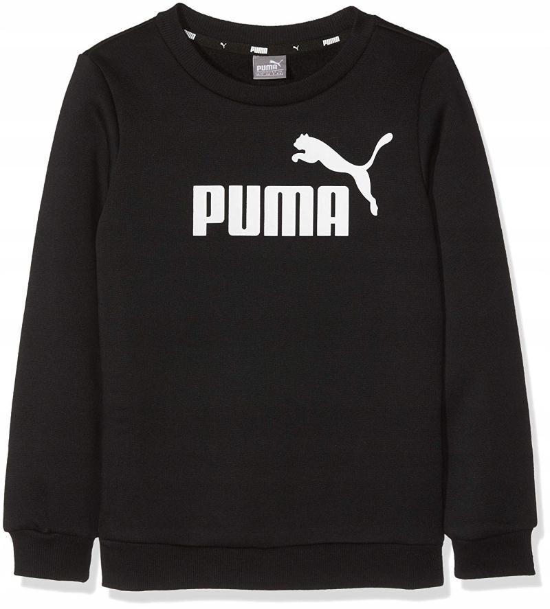 Bluza dresowa Puma czarna rozm.164