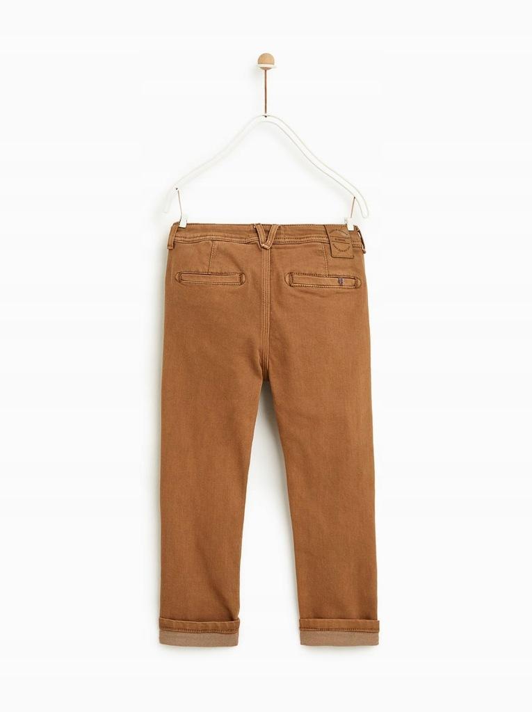 Spodnie chino dla chłopca 6 lat 116cm NOWE ZARA