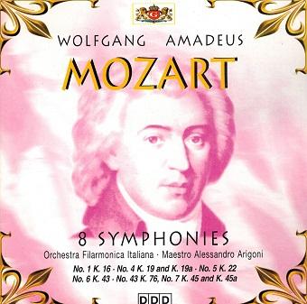 Mozart - 46 Symphonies Vol. 1 (CD)