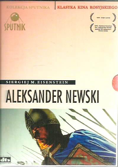 DVD ALEKSANDER NEWSKI REŻ EISENSTEIN