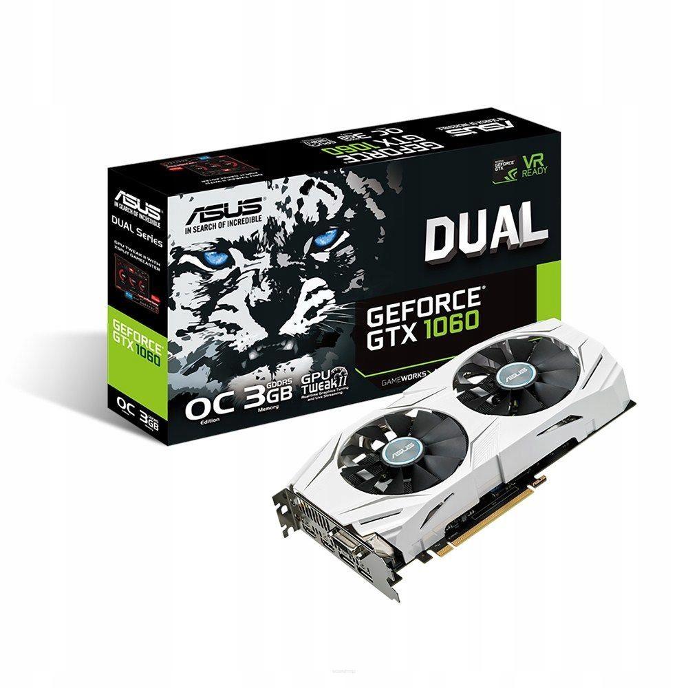 Asus GeForce GTX 1060 DUAL OC 3GB GDDR5 Sklep GW