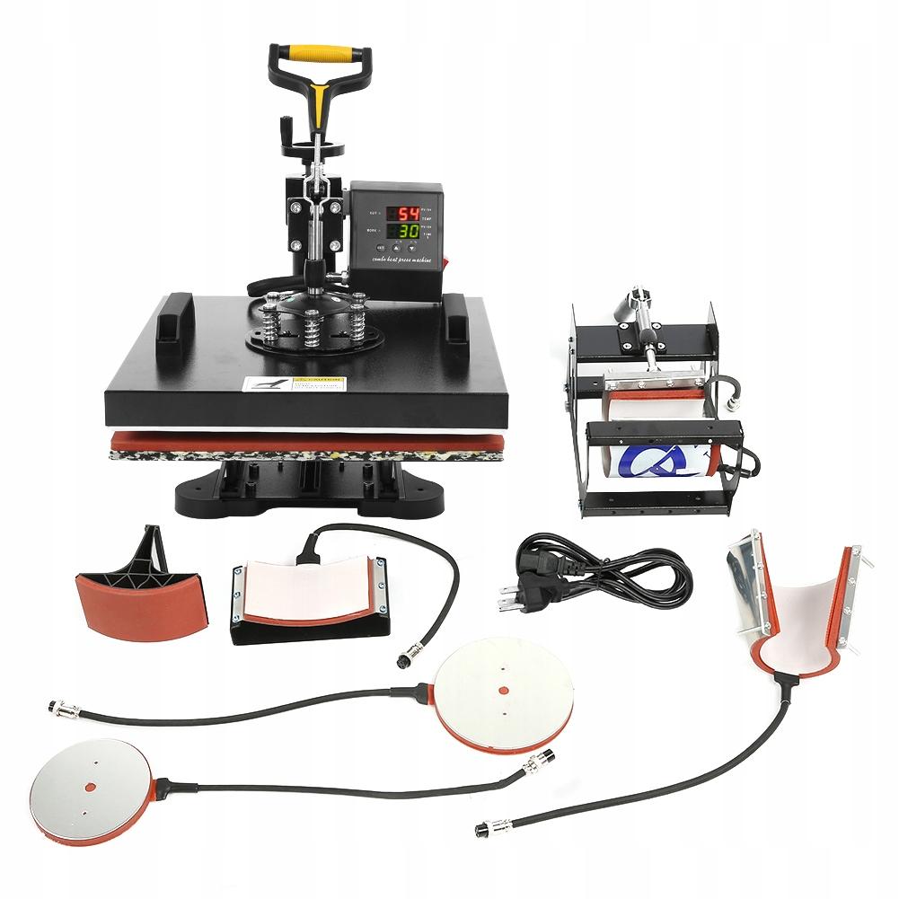 220V Maszyna prasowania termicznego Drukarka