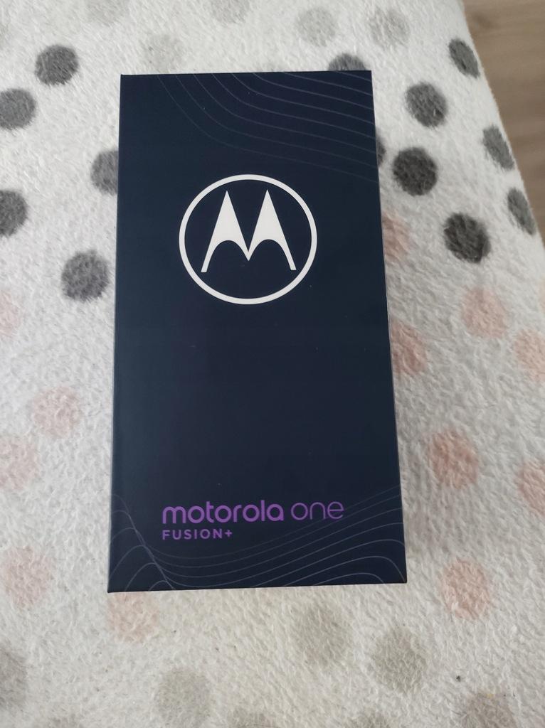 Smartfon Motorola One Fusion+ 6/128 GB biała