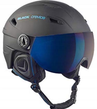 Black Crevice Saalbach M 58-61xm Matt Black/Blue