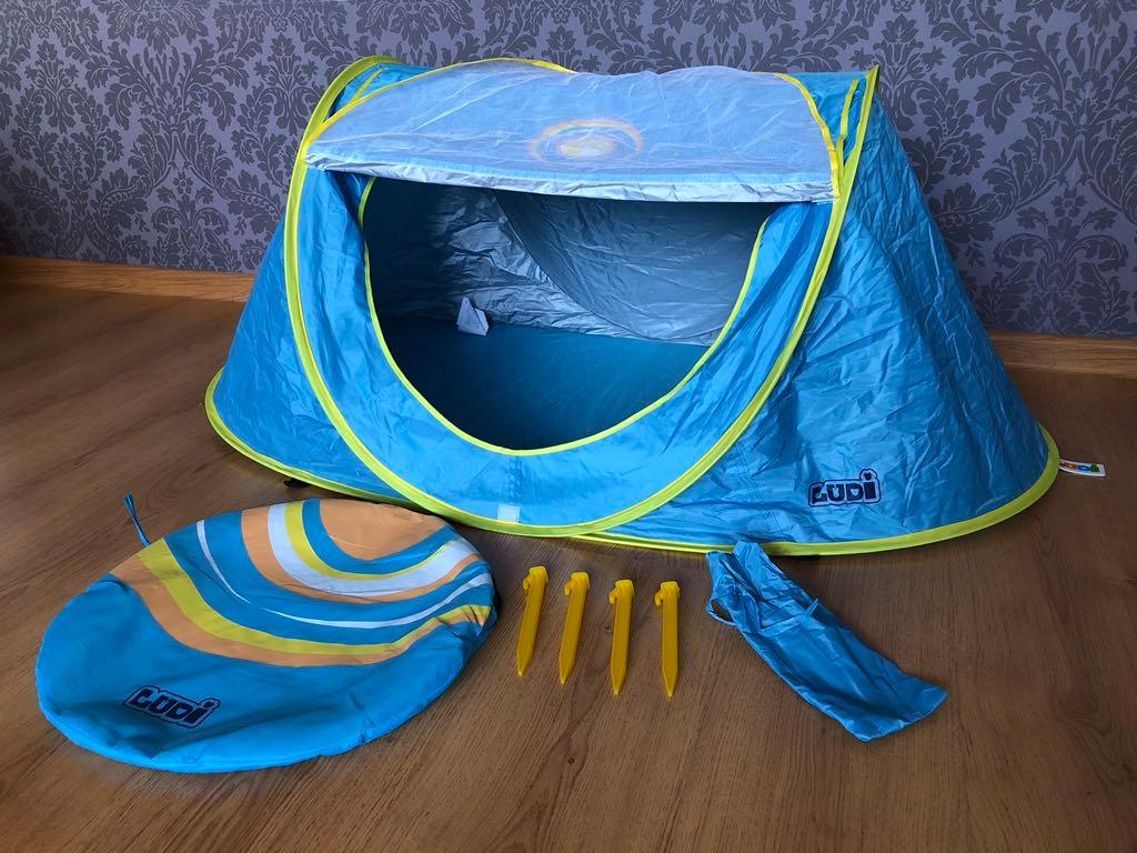 Namiot plażowy dla dzieci UV moskitiera Ludi