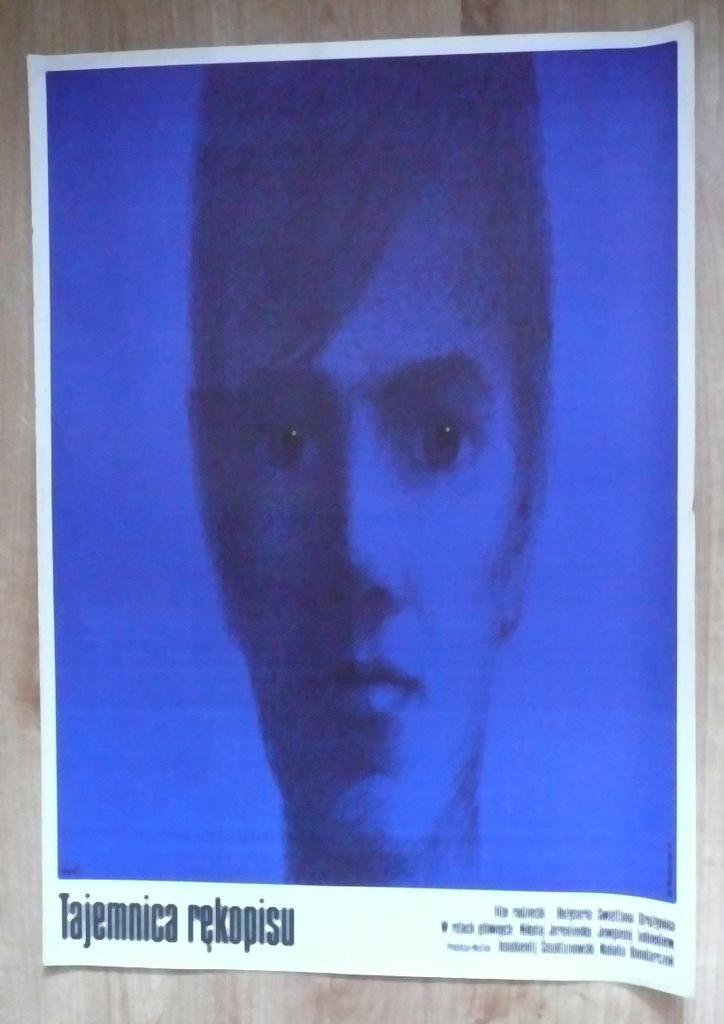 """Plakat filmowy """" Tajemnica.."""" 1975"""