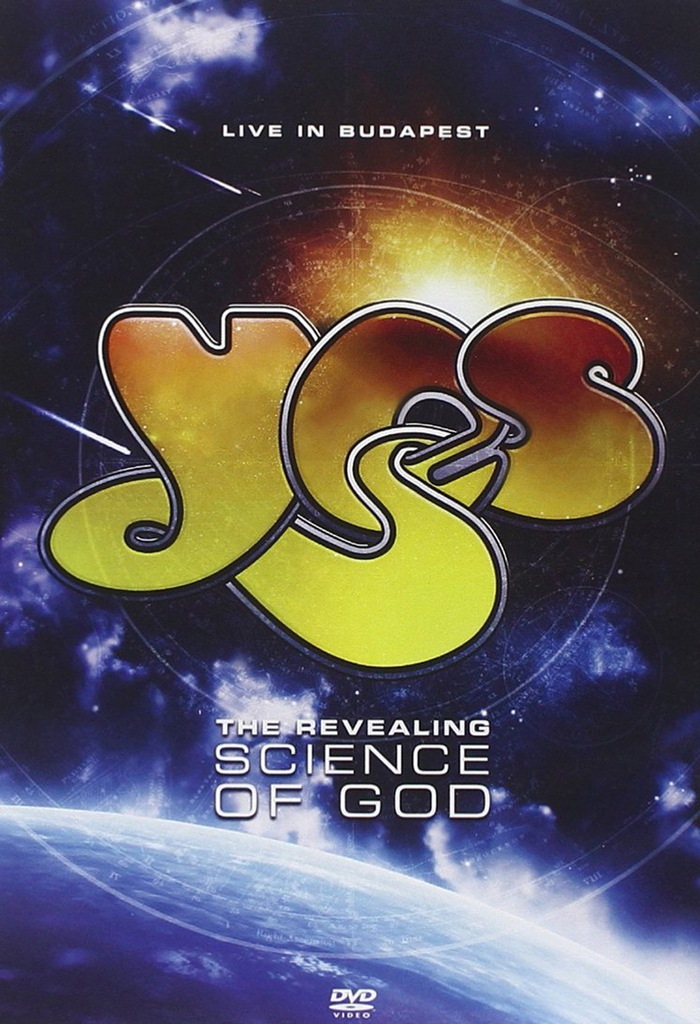YES LIVE IN BUDAPEST REVEALING SCIENCE OF GOD DVD
