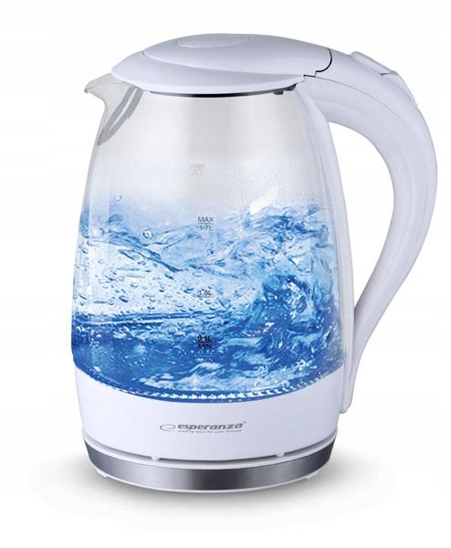 EKK011W Esperanza czajnik elektryczny szklany salt