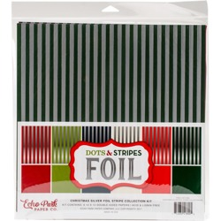 Zestaw papierów - Echo Park - Dots and Stripes