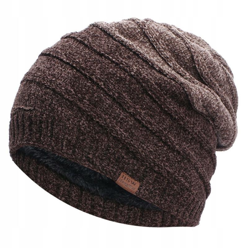 C meskie dzianinowa czapka polarowa Outdoor Slouch