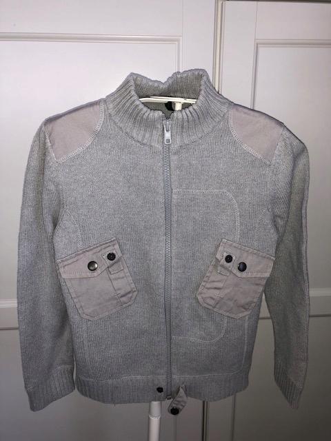 BENETTON sweterek chłopięcy M 7-8 lat 128 cm