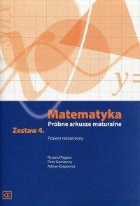 Matematyka próbne arkusze maturalne zestaw 4 pozio