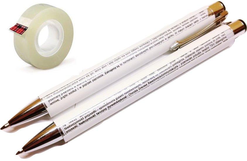Długopis ściąga Do ściąg Obracany Do ściągania 6837878599 Oficjalne Archiwum Allegro