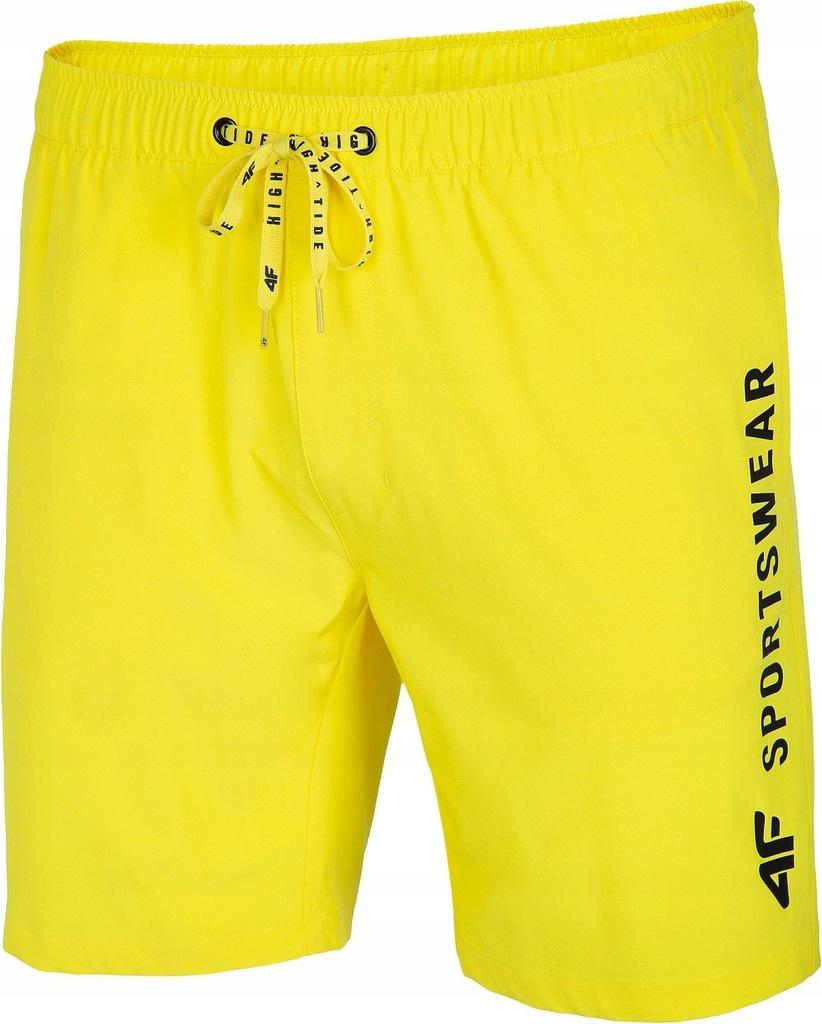 szorty kąpielowe 4F H4L20-SKMT002 - 71S/Yellow