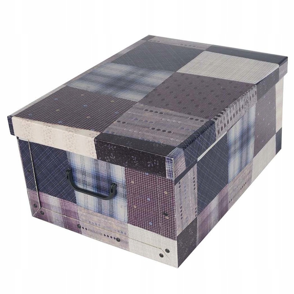 Pudełko kartonowe MAXI PATCHWORK - KLASYCZNE