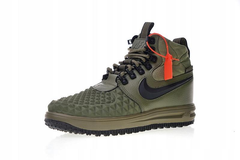 NIKE LUNAR FORCE 1 DUCKBOOT 805899201 | kolor zielony