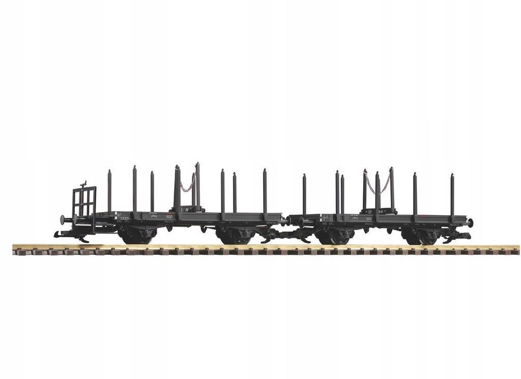 Wagon platforma 2 szt. do dłużycy Piko 37780 G
